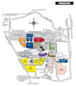 a m football parking map the official site of forest deacon athletics