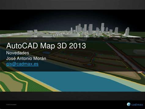 tutorial autocad map 3d 2012 novedades autocad map 3d 2013