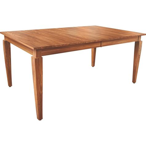 st croix leg table 42x60 amish crafted furniture