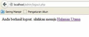 cara membuat form login di localhost cara membuat form login pada localhost dengan php