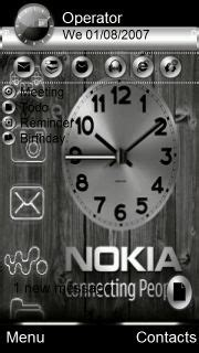 nokia 5233 themes wall clock software 1000 images about mobiles themes on pinterest mobiles