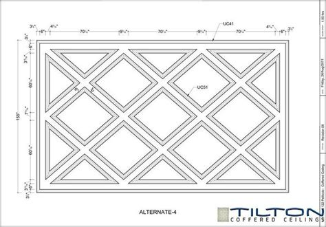 Coffered Ceiling Dimensions 17 Best Images About Quiltkaarten On Free