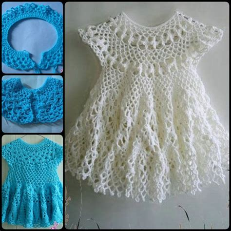 pattern crochet for dress 20 crochet girl dress with free pattern page 4 of 4