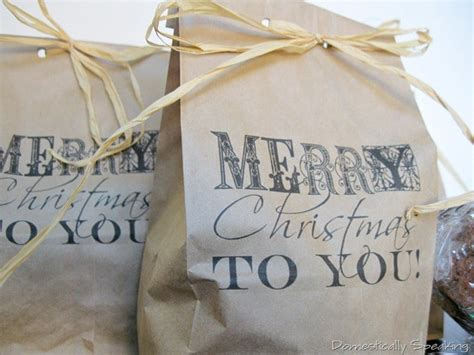 brown paper packages tied up with string domestically