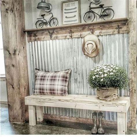 rustic farmhouse mudroom decorating ideas rustic