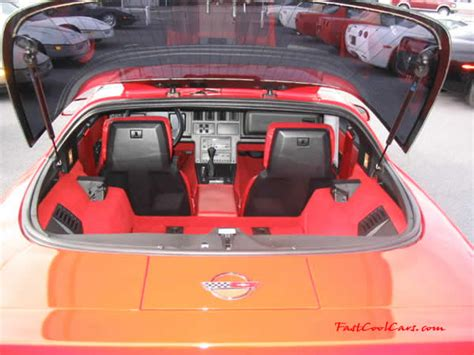 89 Corvette Interior by C4 Chevrolet Corvettes 1989 Models