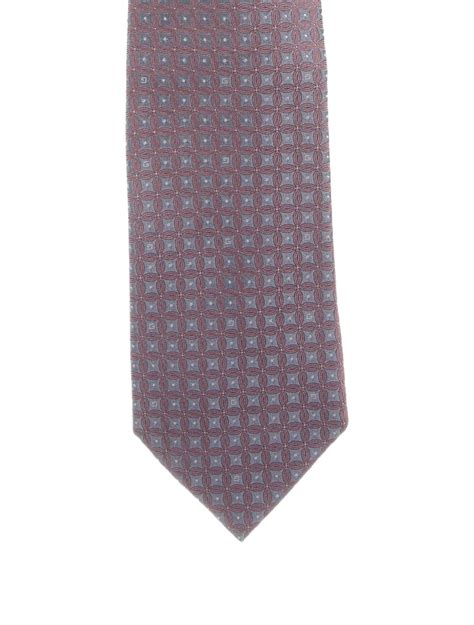Printed Tie gucci printed silk tie mens ties guc69087 the realreal