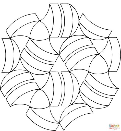 optical illusion coloring pages for adults optical illusion coloring pages printable coloring home