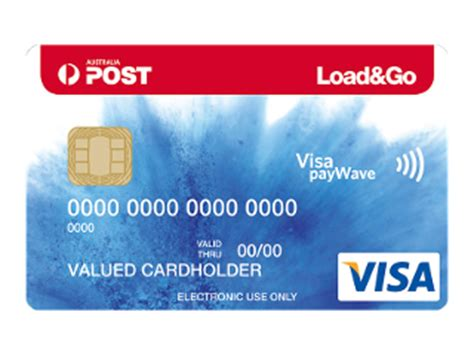 Australia Post Visa Gift Card - load go reloadable visa prepaid card australia post shop