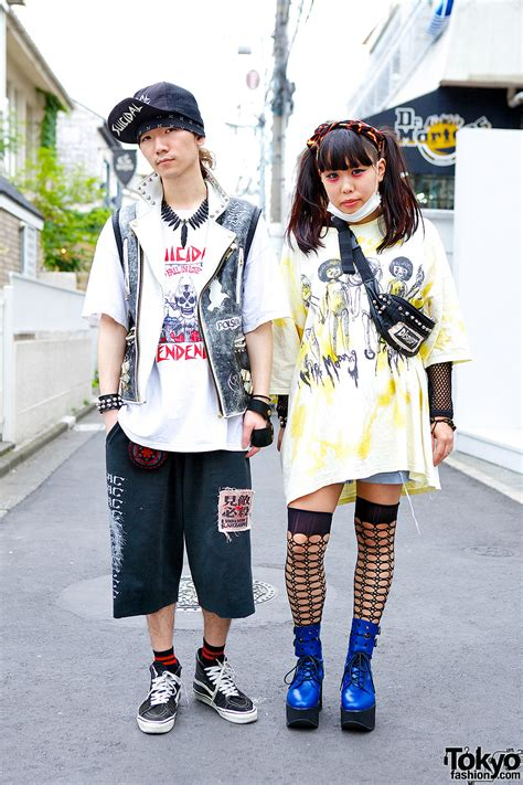 Japanese Inspired House punk inspired harajuku styles w suicidal tendencies