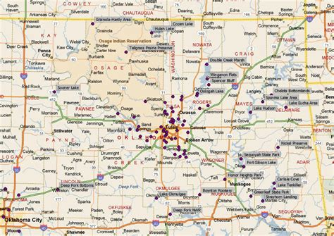 Of Oklahoma Search Search Results For Map Of Casinos In Oklahoma Calendar 2015