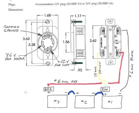 marinco 24 volt wiring diagram fusion wiring diagram