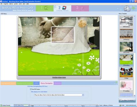 Wedding Album Maker by Wedding Album Maker Gold Dvd Menu Templates Uploaded By