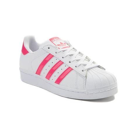 youth adidas superstar athletic shoe white 1436357
