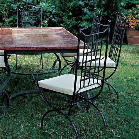 sedia in ferro battuto sedia in ferro battuto modello londra arredaclick