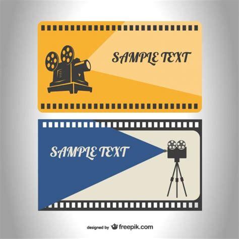 cinema casa gratis plantillas de cine retro descargar vectores gratis