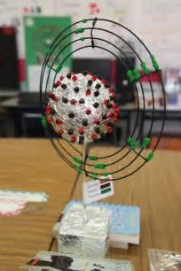 3d project 3d atom model school project three dimensional atoms