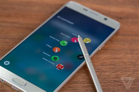 Samsung Galaxy Note5 samsung galaxy note 5 review the verge