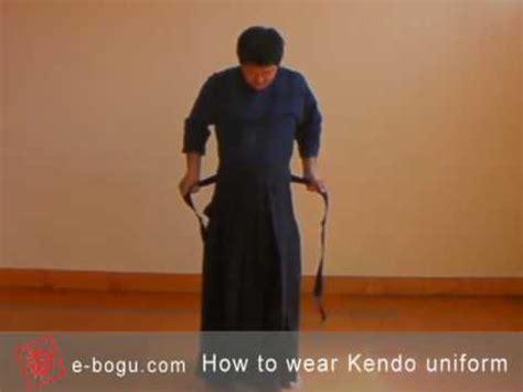 Gi Dan Hakama kendo101 how to wear a kendo kendogi and hakama