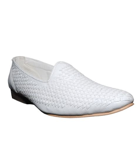 weavers shoes white formal shoes price in india buy