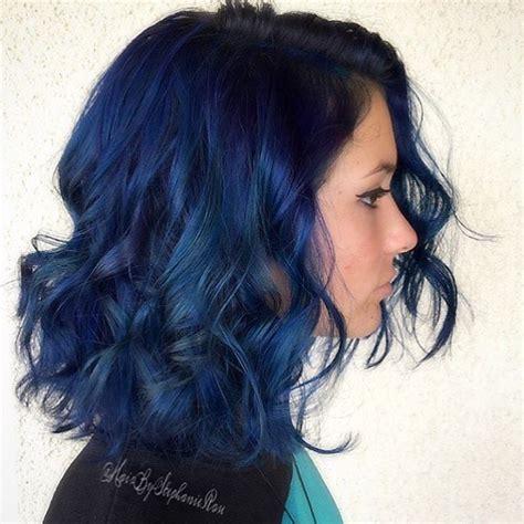 ombre hair for 13 yr old in hshire best 25 blue hair ideas on pinterest dark blue hair