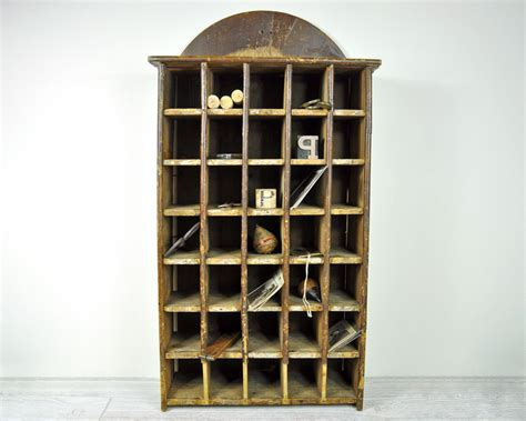 Mail Cabinet by Antique Mail Sorter Cabinet Industrial Wood Cabinet