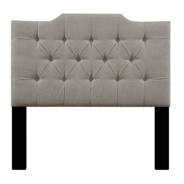 Pulaski Saddle Back Button Tufted Upholstered Headboard Button Back Headboard