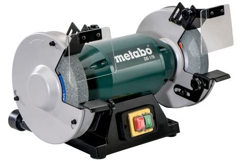grinding aluminum on a bench grinder ds 175 619175420 bench grinder metabo power tools