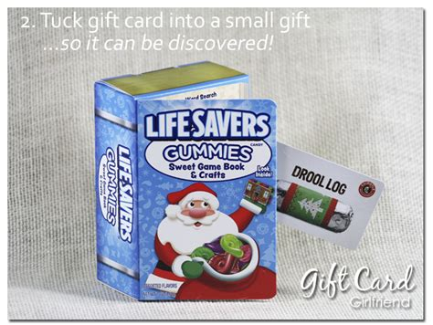 Gift Wrapping Ideas For Gift Cards - five super easy last minute gift card wrapping ideas gcg