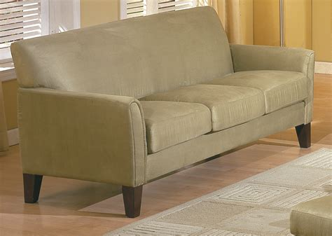 sage leather sofa homelegance petite sofa sage buy living room furniture