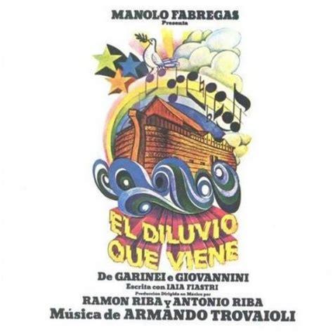 aggiungi un posto a tavola dvd cd el diluvio que viene original mexiko cast 1993