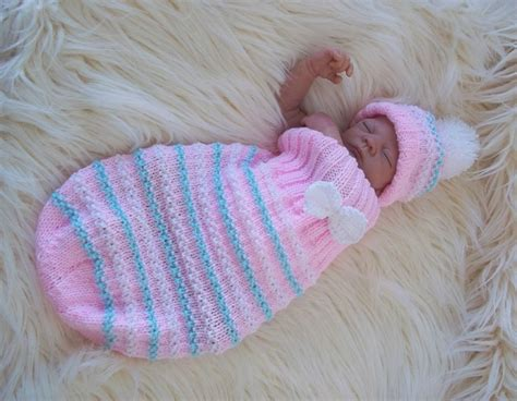 baby cocoon knit pattern aran knitting pattern47 to knit cocoon hat set baby boys