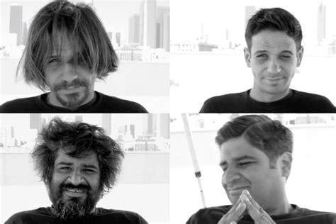 haircuts homeless tyler bridges give homeless haircut and hope silke von