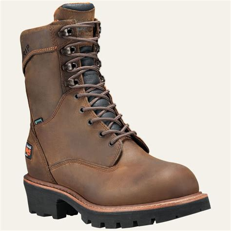 timberland logger boots timberland pro boots mens 9 quot rip saw soft toe logger