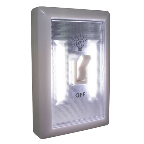 promier wireless light switch cob led battery powered