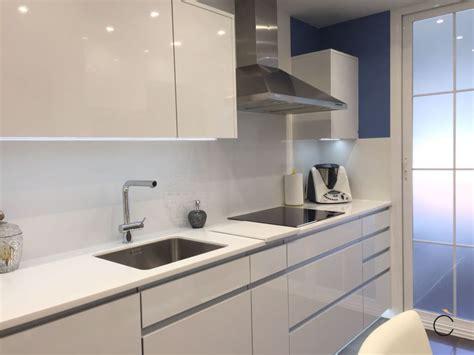 encimeras cocinas blancas las 10 mejores cocinas blancas modernas en madrid