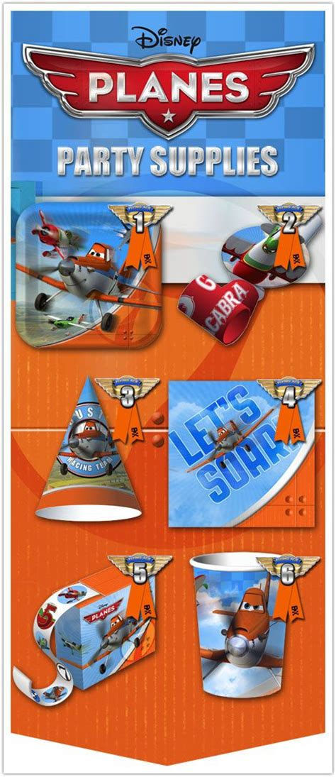 disney planes party plates 18 best planes party images on pinterest birthdays