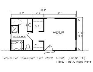 master bedroom suite floor plans additions building modular general housing corporation