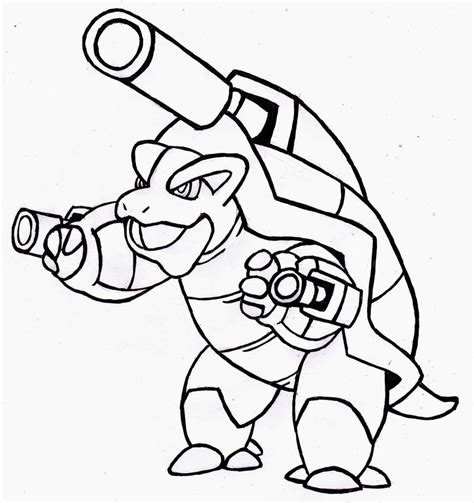 coloring pages pokemon blastoise drawings pokemon pokemon blastoise coloring pages images pokemon images
