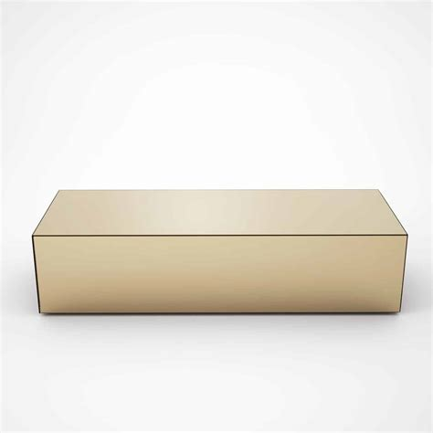 bronze glass coffee table rectangular bronze mirrored coffee table by mirrorbox