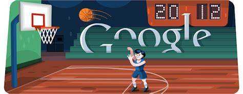 juego de doodle basketball basketball 2012