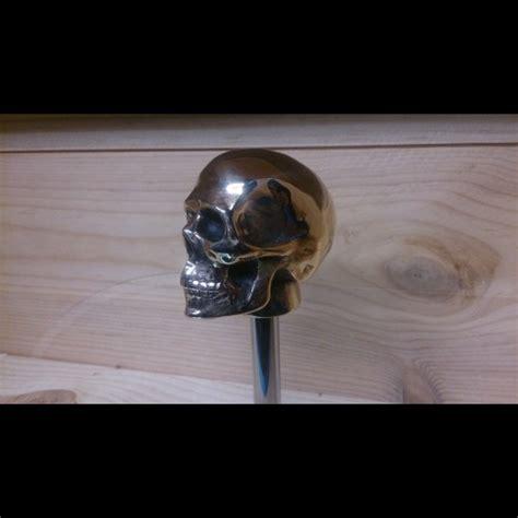 Handmade Knobs - harley shift knob skull aluminum handmade rod harley