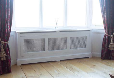 Handcrafted bespoke radiator covers made in YorkshireFine