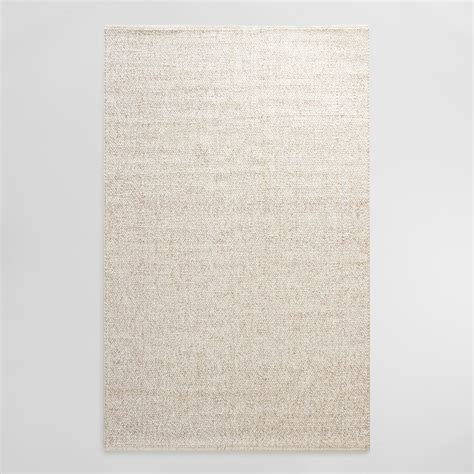 sweater wool rug ivory tonal sweater wool emilie area rug world market