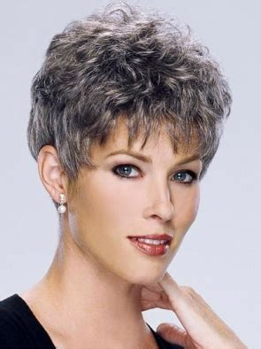 short hair wigs for older women grey wigs for older women hairstyles pinterest wig