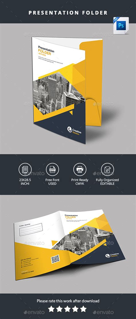 presentation folder by designstemplate graphicriver