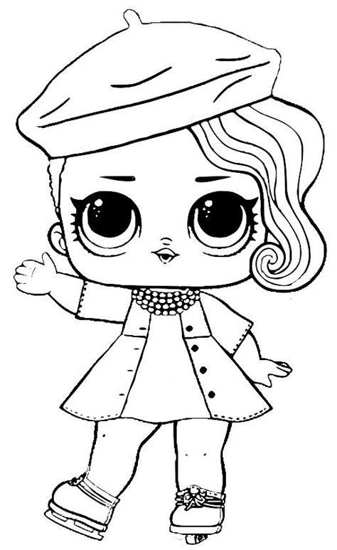Coloring Page Lol Dolls by пин от пользователя Oxana188 на доске Lol