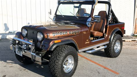 jeep cj golden eagle 1979 jeep cj 7 golden eagle t172 houston 2013