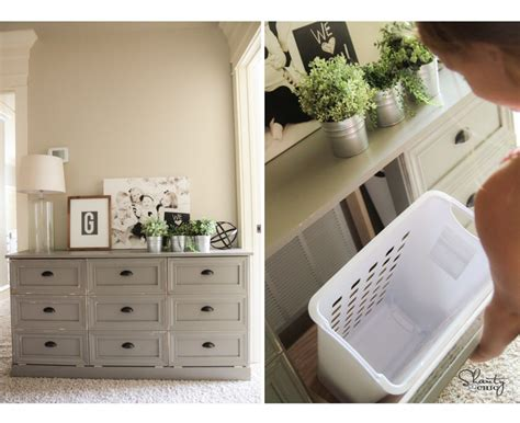 Laundry Dresser by Diy Laundry Baskets Say Goodbye To Clothes Disarray