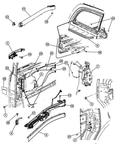 on board diagnostic system 2007 chrysler town country user handbook service manual 2012 chrysler town country sliding door bracket replacement new oem mopar rh